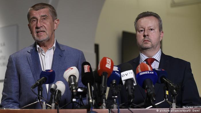 Andrej Babis und Richard Brabec