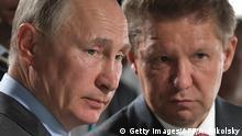 Putin i šef Gazproma Aleksej Miller