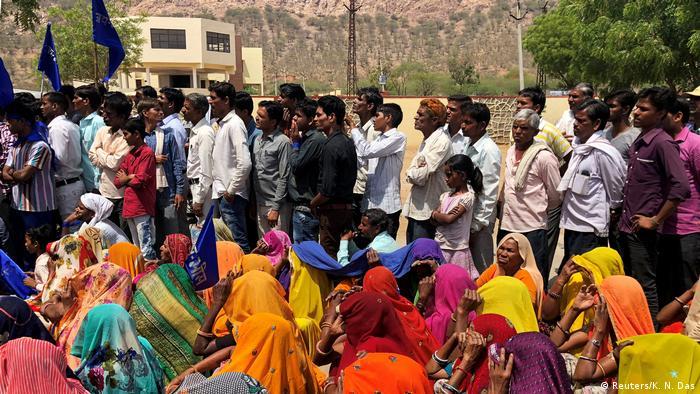 Indien Arbeitsmarkt in Kasba Bonli