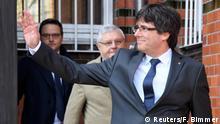 Deutschland Neumünster Freilassung Carles Puigdemont