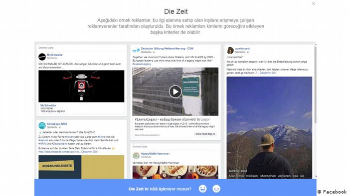 Facebook Screenshots Türkisch 5 (Facebook)