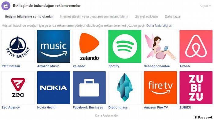 Facebook Screenshots Türkisch 6 (Facebook)