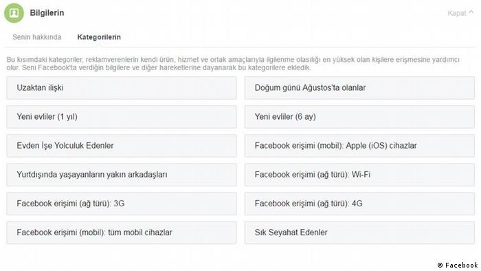 Facebook Screenshots Türkisch 1 (Facebook)