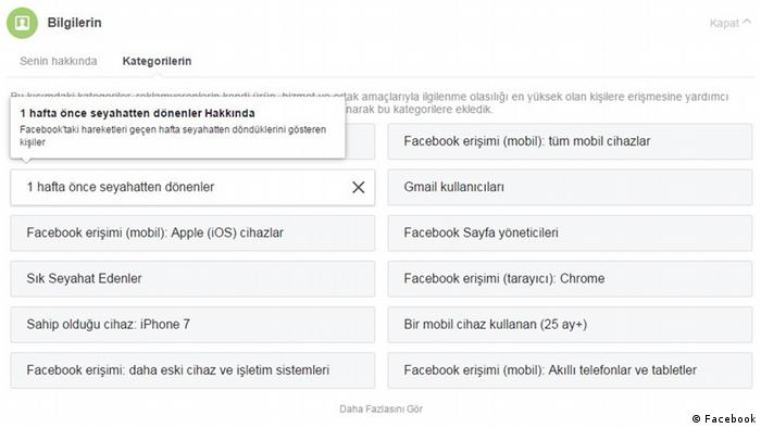 Facebook Screenshots Türkisch 2 (Facebook)