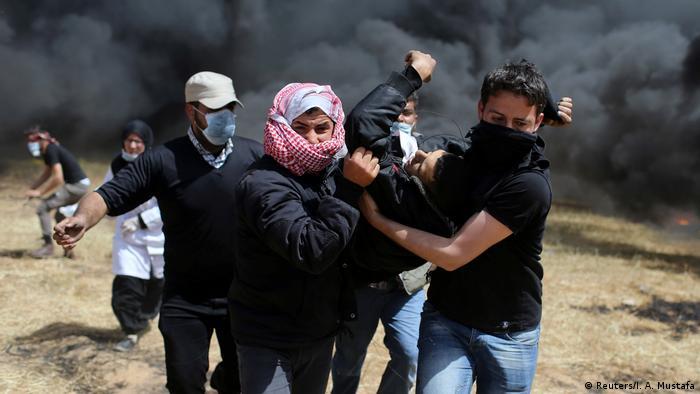 Proteste im Gazastreifen (Reuters/I. A. Mustafa)