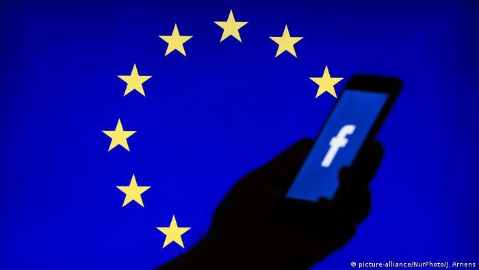 Symbolbild Facebook Europäische Union