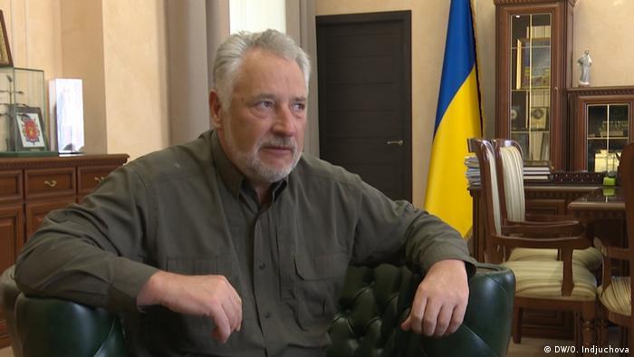 Губернатор Донеччини Павло Жебрівський