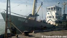 Ukraine Festgesetztes Schiff Nord