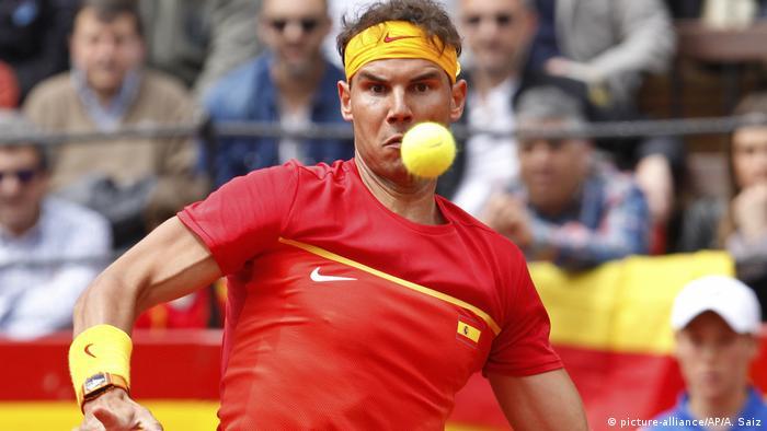 Zverev Legt Vor Nadal Kontert Sport Dw 06042018