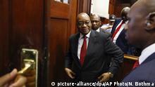 Südafrika Prozess gegen Jacob Zuma in Durban