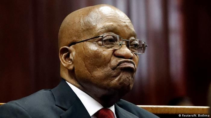 Former South African President Jacob Zuma (Reuters/N. Bothma)