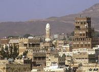 منظرهای از  صنعا، پایتخت یمن