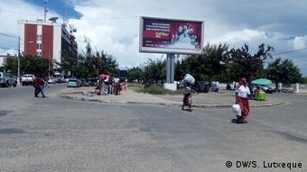 Mosambik Straße in Nampula