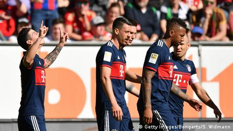 FC Augsburg v FC Bayern Muenchen - Bundesliga (Getty Images/Bongarts/S. Widmann)