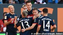 Fußball Bundesliga FC Augsburg - FC Bayern