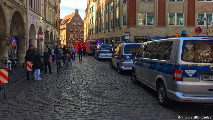 Deutschland Polizei: Täter von Münster ist tot (picture alliance/dpa)