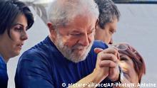 Brasilien Ex-Präsident Lula bei Metallgewerkschaft