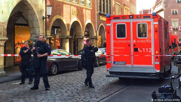 Deutschland Polizei: Täter von Münster ist tot
