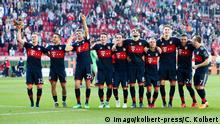 Schlussjubel, die Mannschaft feiert die Meisterschaft, Joshua Kimmich 32 (FC Bayern Muenchen), Thiago Alcantara 6 (FC Bayern Muenchen), Thomas Mueller 25 (FC Bayern Muenchen), James Rodriguez 11 (FC Bayern Muenchen) , Sebastian Rudy 19 (FC Bayern Muenchen), Javi Martinez 8 (FC Bayern Muenchen), Rafinha 13 (FC Bayern Muenchen), Niklas Suele 4 (FC Bayern Muenchen), Corentin Tolisso 24 (FC Bayern Muenchen), Franck Ribery 7 (FC Bayern Muenchen), FC Augsburg vs. FC Bayern Muenchen, 1.Bundesliga, 07.04.2018 Augsburg Bayern Deutschland *** Final Jubilee the team celebrate the championship Joshua Kimmich 32 Bayern Munich Thiago Alcantara 6 FC Bayern Munich Thomas Mueller 25 FC Bayern Munich James Rodriguez 11 FC Bayern Munich Sebastian Rudy 19 FC Bayern Munich Javi Martinez 8 FC Bayern Munich Rafinha 13 FC Bayern Munich Niklas Suele 4 FC Bayern Muenchen Corentin Tolisso 24 Bayern Munich Muenchen Franck Ribery 7 Bayern Muenchen FC Augsburg vs Bayern Munich 1 Bundesliga 07 04 2018 Augsburg Bayern Germany Copyright: xkolbert-press/ChristianxKolbertx