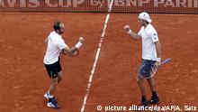 Tennis: Davis Cup Spanien-Deutschland | Jan-Lennard Struff und Tim Pütz