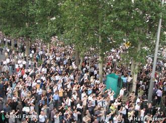 تظاهرات پس از ۲۲ خرداد ۱۳۸۸ در تهران