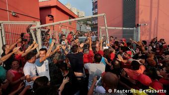 Brasilien Sao Bernardo do Campo Lula Anhänger