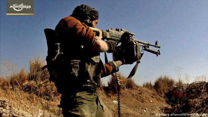 Syrien Army of Islam Propagandamaterial