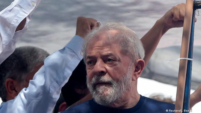 Brasilien Lula da Silva, ehemaliger Präsident (Reuters/L. Benassatto)