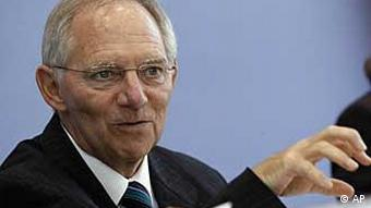 Innenminister Wolfgang Schäuble (Foto: AP)