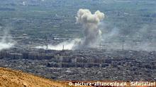 Syrien Luftschläge auf Duma