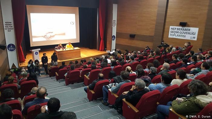 Türkiyeli seçmenler oy ve gelecekleri dayanışma meclisi kurdu