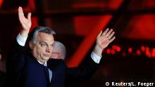 Ungarn Wahlen Viktor Orban Wahlsieg Jubel