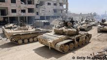 Duma Panzer der Syrischen Armee