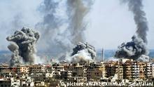 Syrien Duma Beschuß