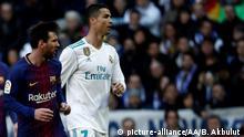 Spanien Fußball Real Madrid - Barcelona