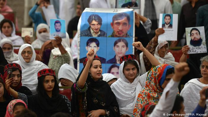 Rights groups say thousands of Pashtun youths have been abducted by security agencies in the past decades