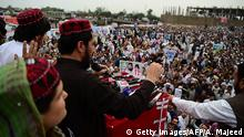 Pakistan Peschawar Demonstration Pashtun Movement