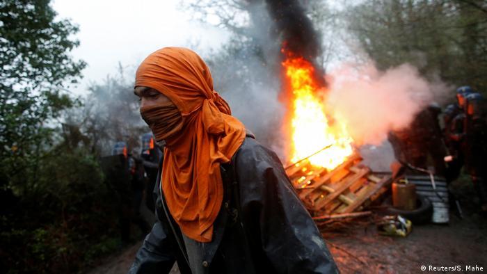 Frankreich Proteste in Notre-Dame-des-Landes