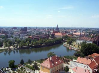 View over Wroclaw