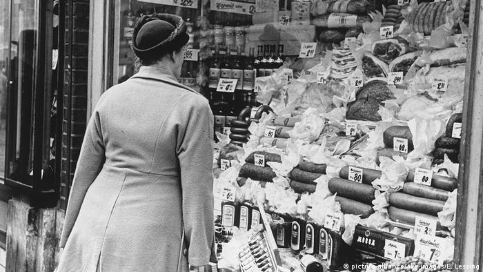 Trgovina u Njemačkoj koncem četrdesetih
