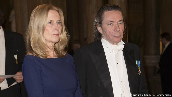 Katarina Frostensson and husband Jean Claude Arnault (picture-alliance/C. Hammarsten)