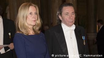 Katarina Frostenson e o marido, Jean-Claude Arnault