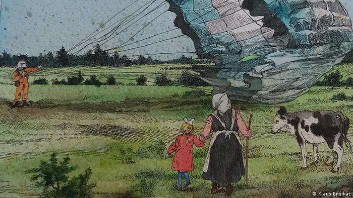 В окрестностях деревни Смеловка. Иллюстрация