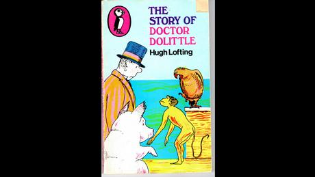 Book cover The story of Doctor Dolittle (c) penguin