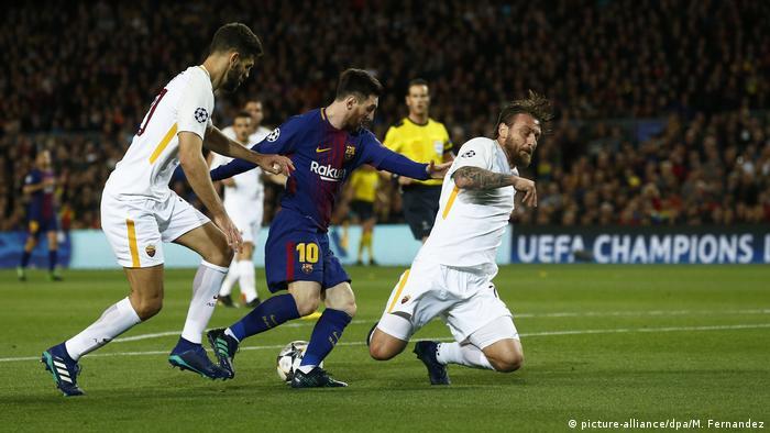 FC Barcelona - AS Rom