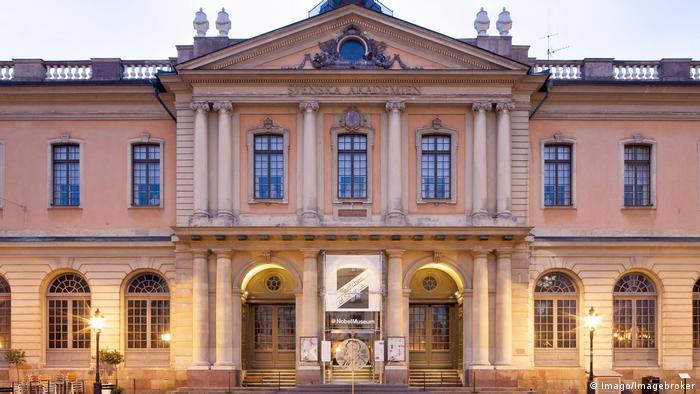 Schwedische Akademie in Stockholm (Imago/Imagebroker)