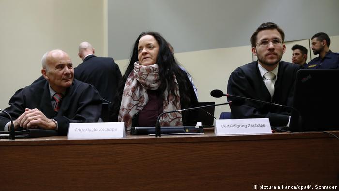 NSU-Prozess 13.03.2018 (picture-alliance/dpa/M. Schrader)
