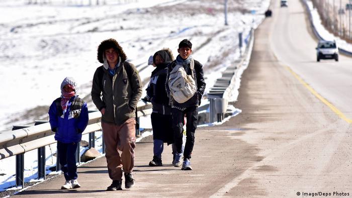 Türkei Erzurum Flüchtlinge aus Afghanistan (Imago/Depo Photos)