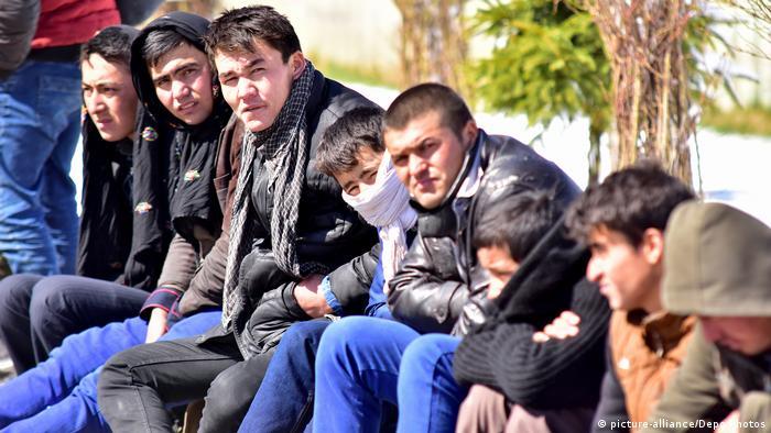 Erzurum, Turcia: refugiaţi afgani