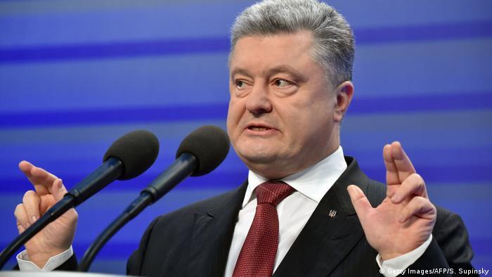 Ukraine - Präsident Petro Poroschenko